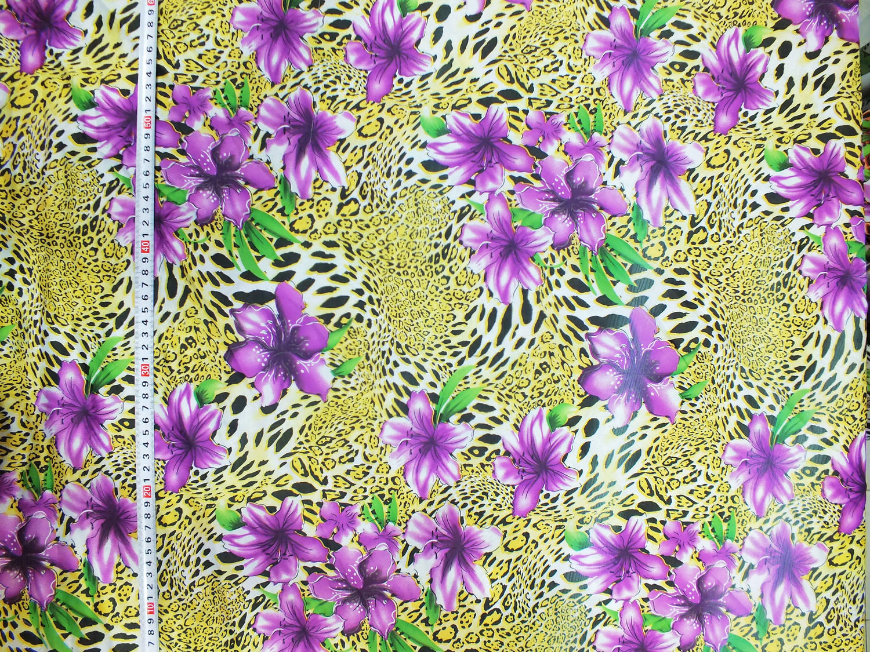 豹纹花型,动物皮纹花型,印花图案,印纸印花,印花纸,服装印花