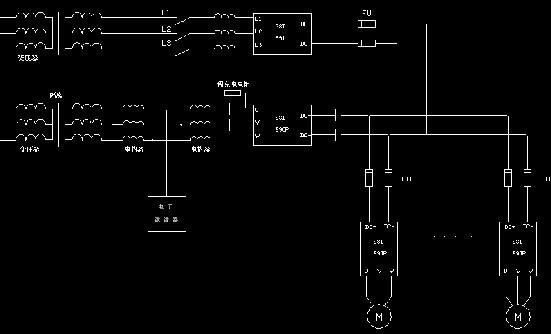 直流连接电源变频器
